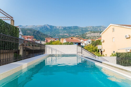 Hotel Kadmo, Budva, Montenegro, swimming pool