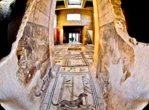 Houses of Ancient Pompeii and Frescoes