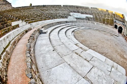 Roman Theater, Ancient Pompeii