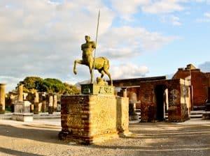 Pompei and Ancient Pompeii, Italy