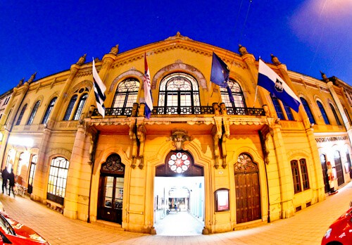 Croatian National Theater in Osijek, free tickets