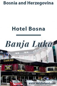 hotel Bosna is located opposite the Cathedral of Christ the Saviour of Banja Luka. The hotel has many restaurants, cafes, a casino and a nightclub. You can walk to all major points of interest of Banja Luka from this location.