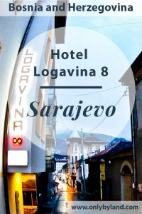 Hotel Logavina 8 is a hotel in Sarajevo. The Sarajevo boutique hotel is located in a quiet street in the old town of Sarajevo.