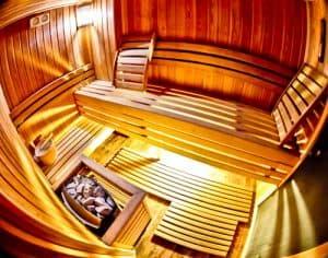 Hotel Prezident Novi Sad, Travel Blogger Review - spa and sauna