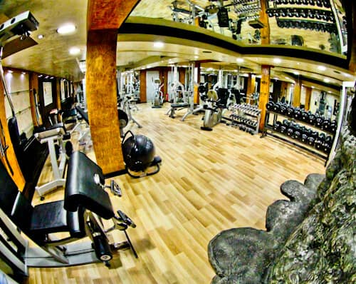 Hotel Prezident Novi Sad, Travel Blogger Review - fitness center and gym