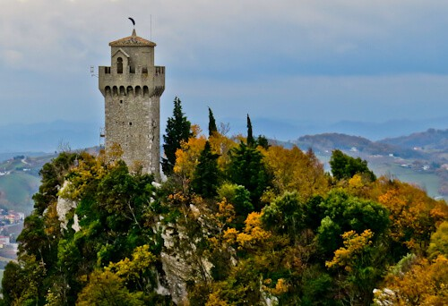 Montale, the third tower of san marino