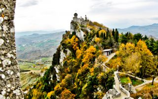 The towers, walls and views of San Marino
