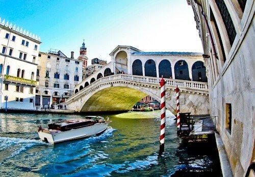 Venice Landmarks - Rialto Bridge