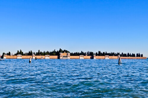 Venice Landmarks - Venice cemetery, San Michele Island