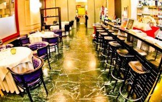 JB Restaurant Ljubljana, Slovenia - Travel Blogger Review. - restaurant interior