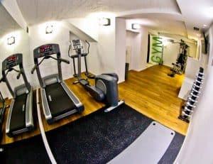 Belgrade Inn, Serbia - Travel Blogger Review, fitness center gym