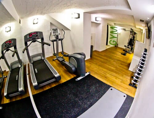Belgrade Inn, Serbia - Travel Blogger Review, fitness center gym
