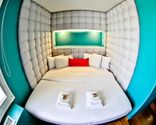Colors Urban Hotel Thessaloniki Greece - travel blogger review - Breathe Guest Room