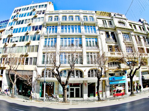 Colors Urban Hotel Thessaloniki Greece - travel blogger review - location