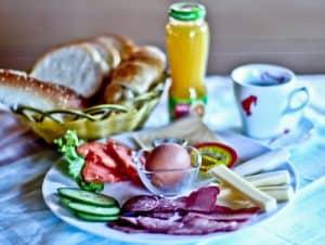 Hotel Denis Prishtina Kosovo, Travel Blogger Review - complimentary breakfast