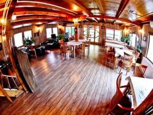 Hotel Denis Prishtina Kosovo, Travel Blogger Review - onsite restaurant