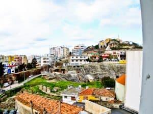 Hotel Amfiteatri Boutique Hotel Durres, Albania - view of the roman amphitheater Durres
