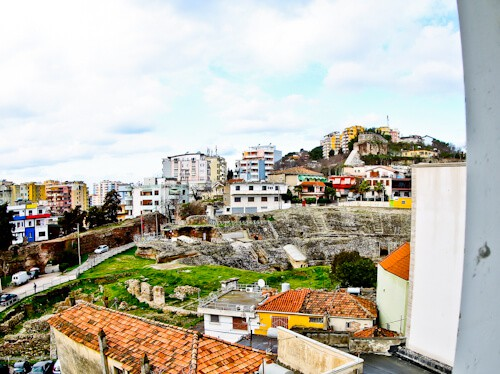 Hotel Amfiteatri Boutique Hotel Durres, Albania - view of the roman amphitheater Durres