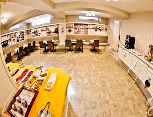 Hotel Amfiteatri Boutique Hotel Durres, Albania - complimentary breakfast buffet