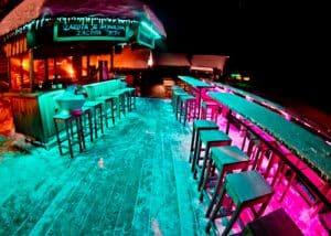 Hotel Krvavec, Ski Resort, Slovenia - Travel Blogger Review - outdoor bar