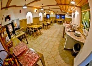 Hotel Krvavec, Ski Resort, Slovenia - Travel Blogger Review - restaurant and bar, Complimentary Breakfast Buffet