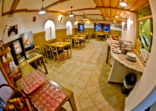 Hotel Krvavec, Ski Resort, Slovenia - Travel Blogger Review - restaurant and bar, Complimentary Breakfast Buffet