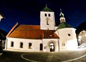 Lasko Church, Zupnijska cerkev sv. Martina, Slovenia