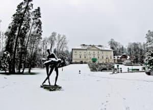 Tivoli City Park and Tivoli Castle mansion