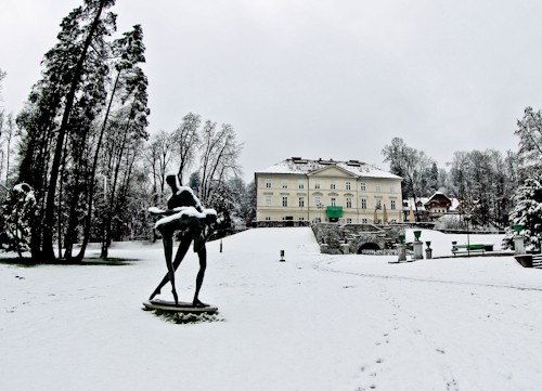 Things to do in Ljubljana - Slovenia - Tivoli City Park and Tivoli Castle mansion