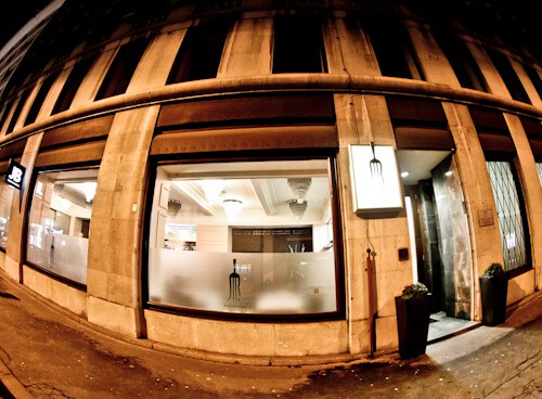 JB Restaurant Ljubljana, Slovenia - Travel Blogger Review - location