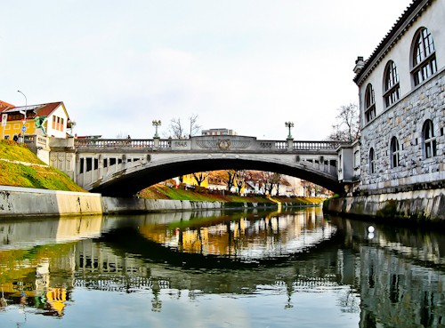Things to do in Ljubljana - Slovenia - Dragon Bridge crossing the Ljubljanica river
