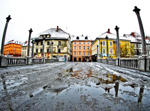 Things to do in Ljubljana - Slovenia - Cobblers Bridge crossing the Ljubljanica River