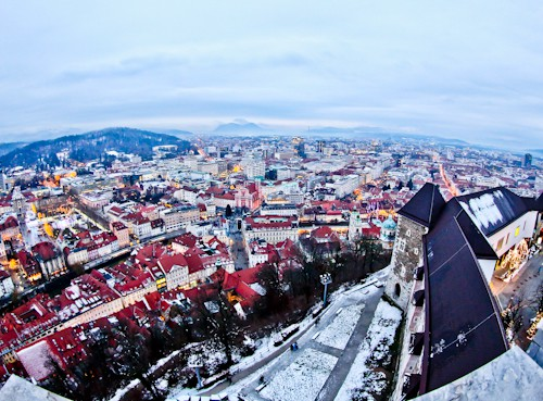Things to do in Ljubljana - Slovenia - Ljubljana Castle and view of the city