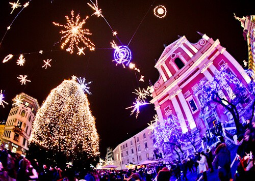 Things to do in Ljubljana - Slovenia - Ljubljana Christmas Lights