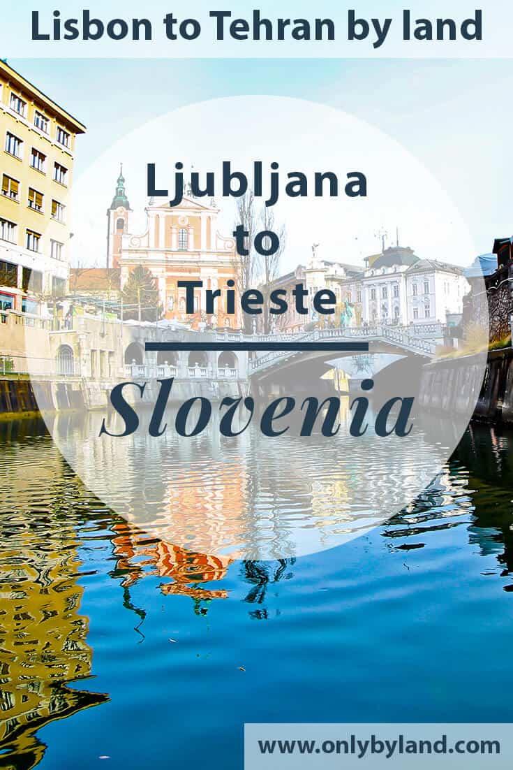 Ljubljana to Trieste