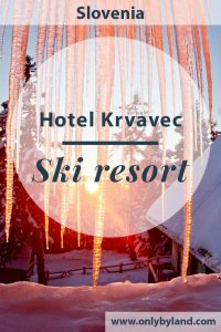 Hotel Krvavec, Ski Resort, Slovenia. Krvavec is one of the biggest ski resorts in Slovenia. It's location makes it perfect for skiing close to Lake Bled and Ljubljana. Cheap skiing, snowboarding, snow biking, snowshoeing and cross country skiing. In the hotel there is a bar, WiFi, restaurant, kids game room, complimentary buffet breakfast, Finnish and Infra red sauna. There are wonderful panoramic views of the Slovenia Alps as well!