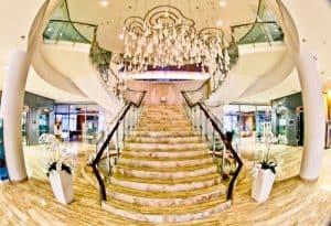 Hotel Thermana Park Lasko, Slovenia Spa Region - reception and check in - staircase