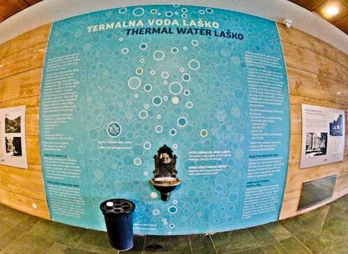 Hotel Thermana Park Lasko, Slovenia Spa Region - thermal spring water fountain
