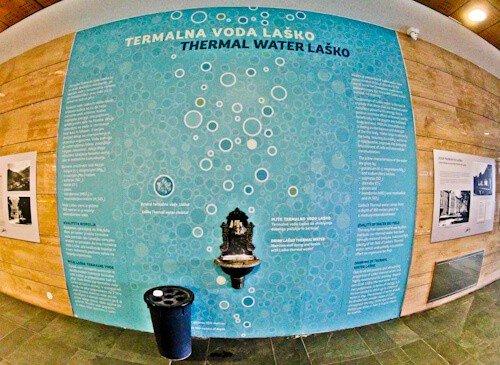 Hotel Thermana Park Lasko, Slovenia Spa Region - thermal spring water fountain