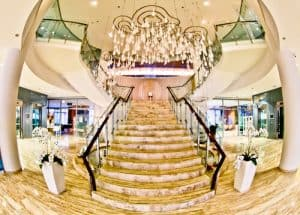 Hotel Thermana Park Lasko, Slovenia Spa Region - instagrammable staircase