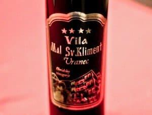 Vila Mal Sveti Kliment, Bed and Breakfast, Winery, Ohrid, Macedonia - Travel Blogger Review - Wine