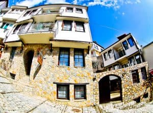 Vila Mal Sveti Kliment, Bed and Breakfast, Winery, Ohrid, Macedonia - Travel Blogger Review - location