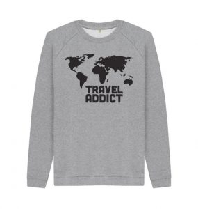Travel Addict Sweater