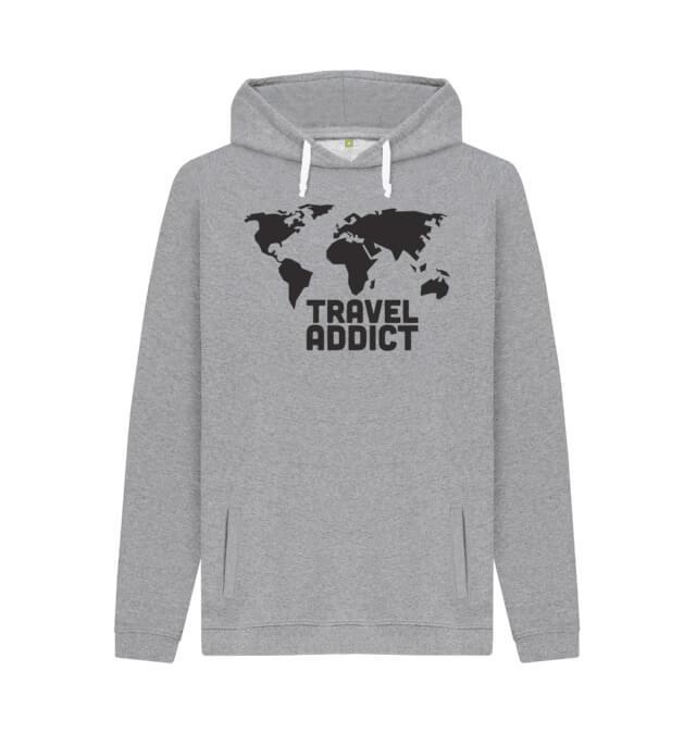 Travel Addict Hoodie