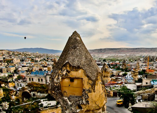 Divan Cave House - Cappadocia Hotels - panoramic cave hotel - terrace