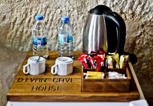 Divan Cave House - Cappadocia Hotels - complimentary minibar