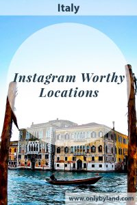 Italy locations which are perfect for Instagram photography. In total I shared 10 Instagrammable locations in Italy and all performed well on Instagram.