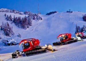 Hotel Krvavec, Ski Resort, Slovenia - Travel Blogger Review - Piste Caterpillar Ride