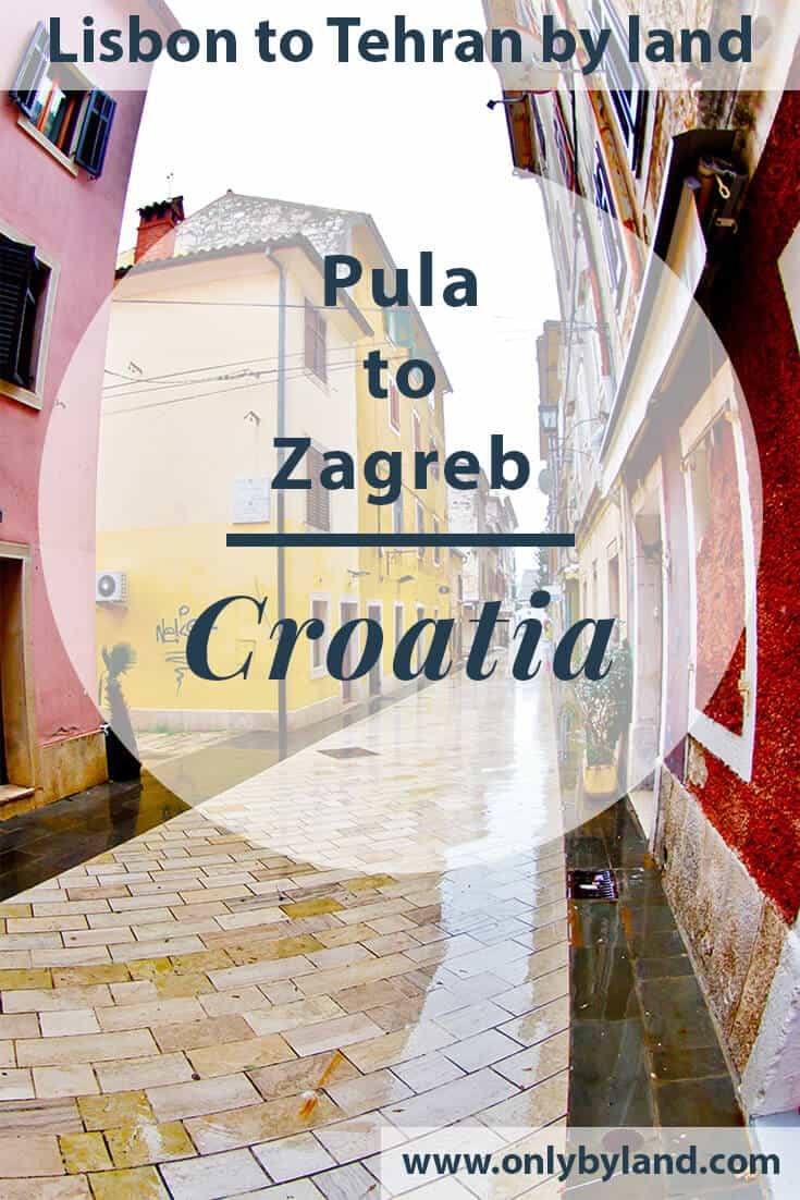 Pula to Zagreb