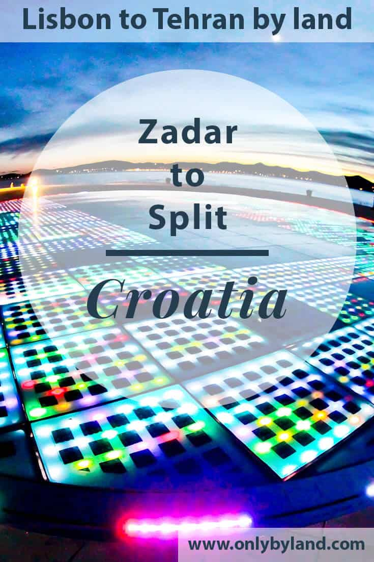 Zadar Croatia – Zadar to Split